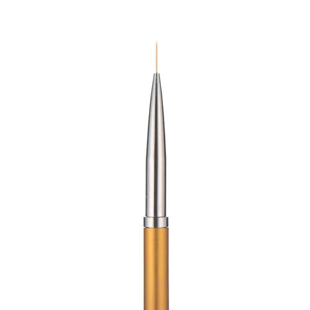 3 ชิ้น/เซ็ตทองเล็บเส้นภาพวาดปากกาแปรง Professional คุณภาพสูง UV เจลเคล็ดลับ 3D ออกแบบเล็บวาดชุดเครื่องมือ