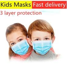 Children antivira Disposable face mask Filter Flu dust gas Hygiene mouth Mask mondkapjes virus masks for germ protection