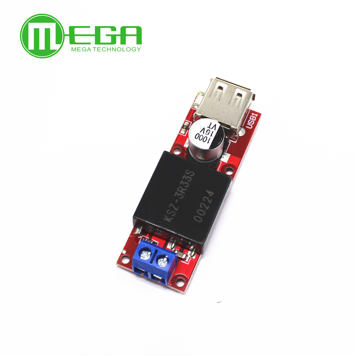5V USB Output Converter DC 7V 24V To 5V 3A Step Down Buck KIS3R33S Module KIS 3R33S-in Integrated Circuits from Electronic Components & Supplies