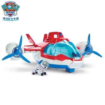 Paw patrol dog toy rescue aircraft puppy patrol air rescue aircraft cartoon character machine dog paw patrol birthday gift anime patrulha canina action figure children toy gift Christmas gift paw patrol toys action figure kids bag school cute knapsack canine paw patrol toys puppy patrol backpack children toy gift