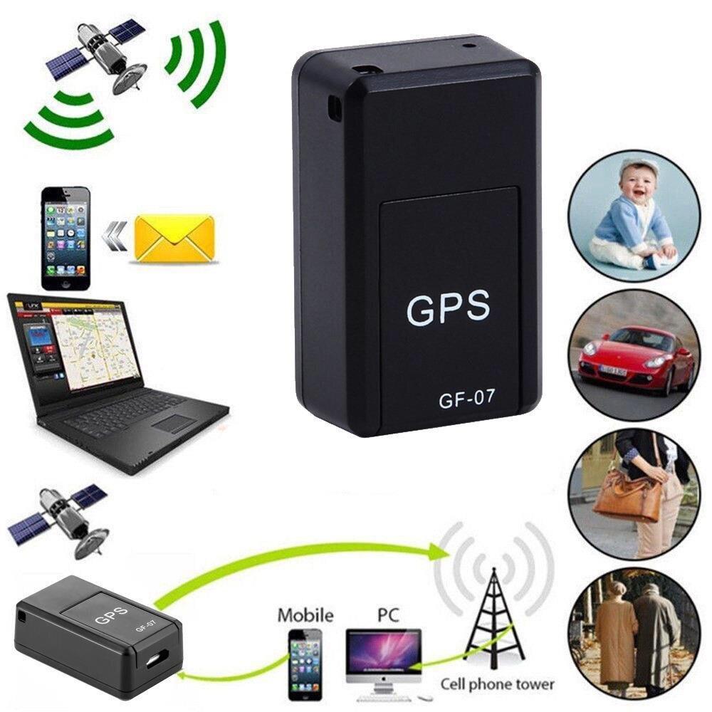 Dispositivo de seguimiento GF07 Mini tarjeta SIM magnética GPS Tracker en tiempo Real coche camión vehículo localizador GSM GPRS grabadora de voz remota