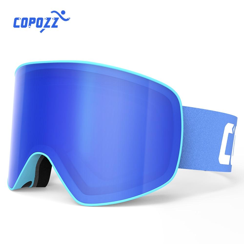 Professional Skiing Glasses Men Women Anti-fog Cylindrical Snow Ski Goggles Snowboard UV Protection Winter Adult Sport Gafas Ski