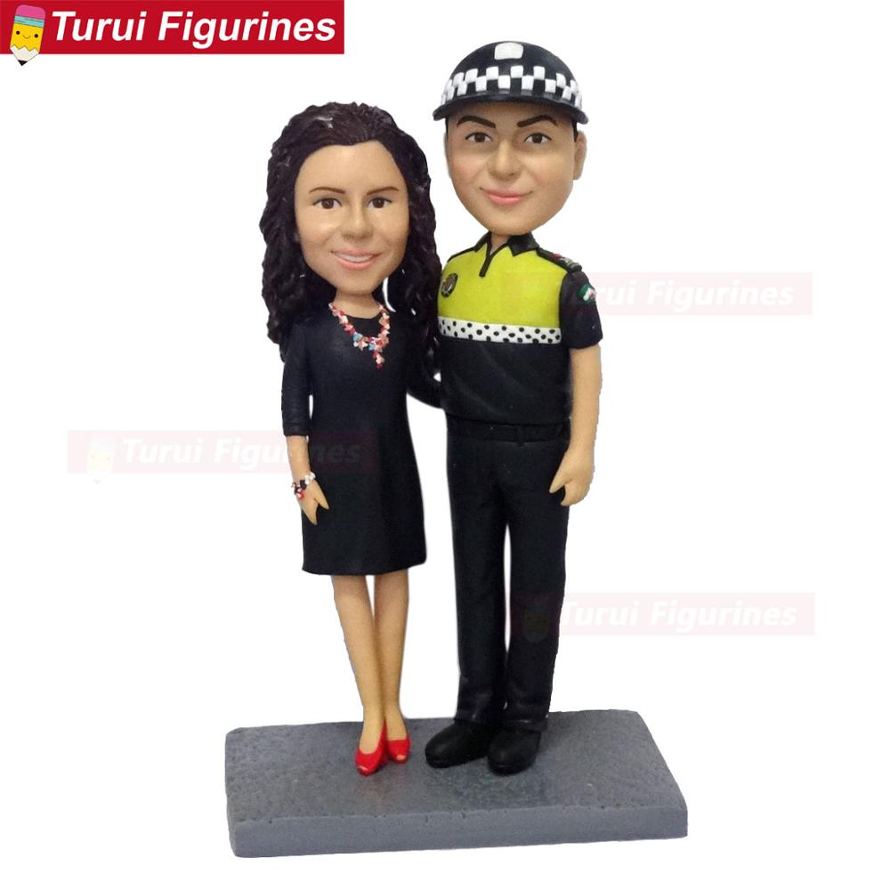 Images of photo to bobblehead heads creator traffic policeman bobblehead figurines The Personalized Caricature Bobblehead dolls|Statues & Sculptures| |  - title=