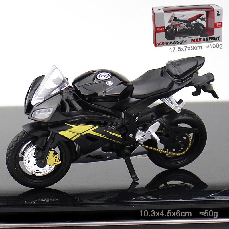 Maisto Alloy Motorcycle <font><b>Model</b></font> Toy Off Road Motorbike Racing <font><b>Car</b></font> <font><b>Models</b></font> Motorcycles For Kids Cake decoration Ducati locomotive image