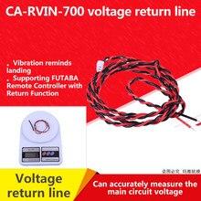 Externe Spannung Kabel pr für Futaba R7008SB Rx CA-RVIN-700 NIB 70cm Spannung Rückkehr Linie 70 V/18MZ 14SG t10J 16sz
