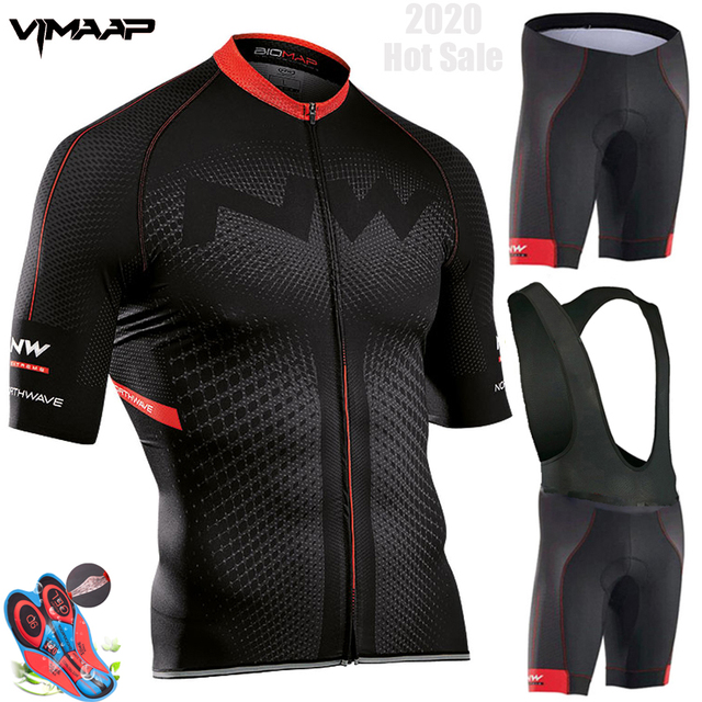 Northwave Nw Summer Cycling Jersey Set Breathable MTB Bicycle Cycling Clothing Mountain Bike Wear Clothes Maillot Ropa Ciclismo 1