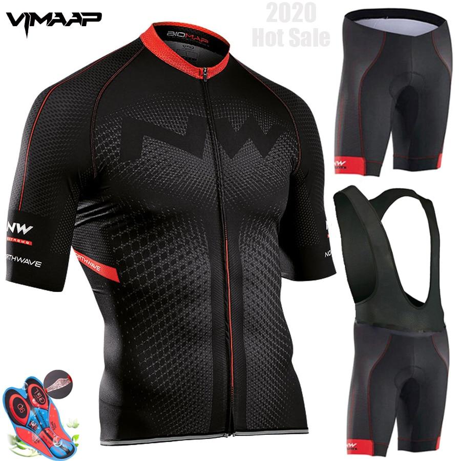 Northwave Nw yaz bisiklet Jersey seti nefes MTB bisiklet bisiklet giyim dağ bisiklet kıyafeti elbise Maillot Ropa Ciclismo