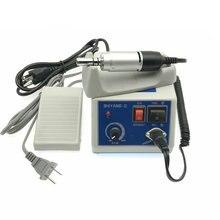 Diş elektrikli mikro Motor parlatıcı SHIYANG N3 makinesi + E tipi konnektör WJ 90 110V