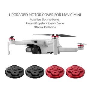 Image 2 - Mavic Mini Accessoires Capot Moteur Krasbestendig Hélice Blok Beschermende Moteur En Aluminium pour DJI Mavic Mini Drone