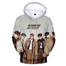 K POP KPOP K-POP ATEEZ Album 3D Printed Women/Men Hoodies Sweatshirts Korean Fashion boy/girls Fleece Hooded Jacket Tracksuit