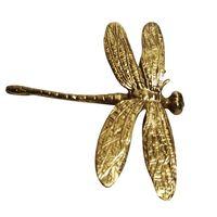 Zuiver Koper Dragonfly Handgrepen Gold Lade Kast Deur Kast Trekt Knoppen