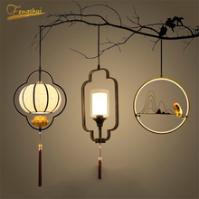 Rural LED Pendant Lamp Lighting Fixtures Modern Golden Gloss Pendant Lights Attic Hotel Home Indoor Decor Hanging Lamp Luminaria
