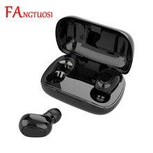 FANGTUOSI Drahtlose bluetooth headset TWS binaural stereo musik headset wasserdichte headset mit mikrofon für ISO Android
