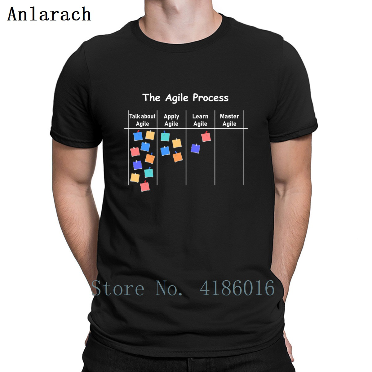 Agile Process Aoe Project Process Management T Shirt Loose Summer Create Cotton Standard S-5xl Unique Humor Shirt