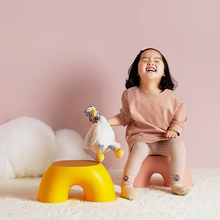 Stool Rainbow-Chair Children's Living-Room-Furniture Footboard Toy Sofa Indoor-Decorations