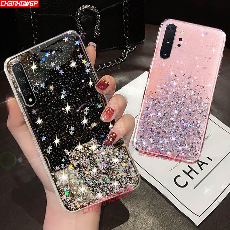 Soft Glitter Bling Case For Samsung Galaxy A70 A50 A30 A40 A20 A10 A30S A20E Note10 S10 Plus S9 S8 M20 M30 M40 Sequins Cover