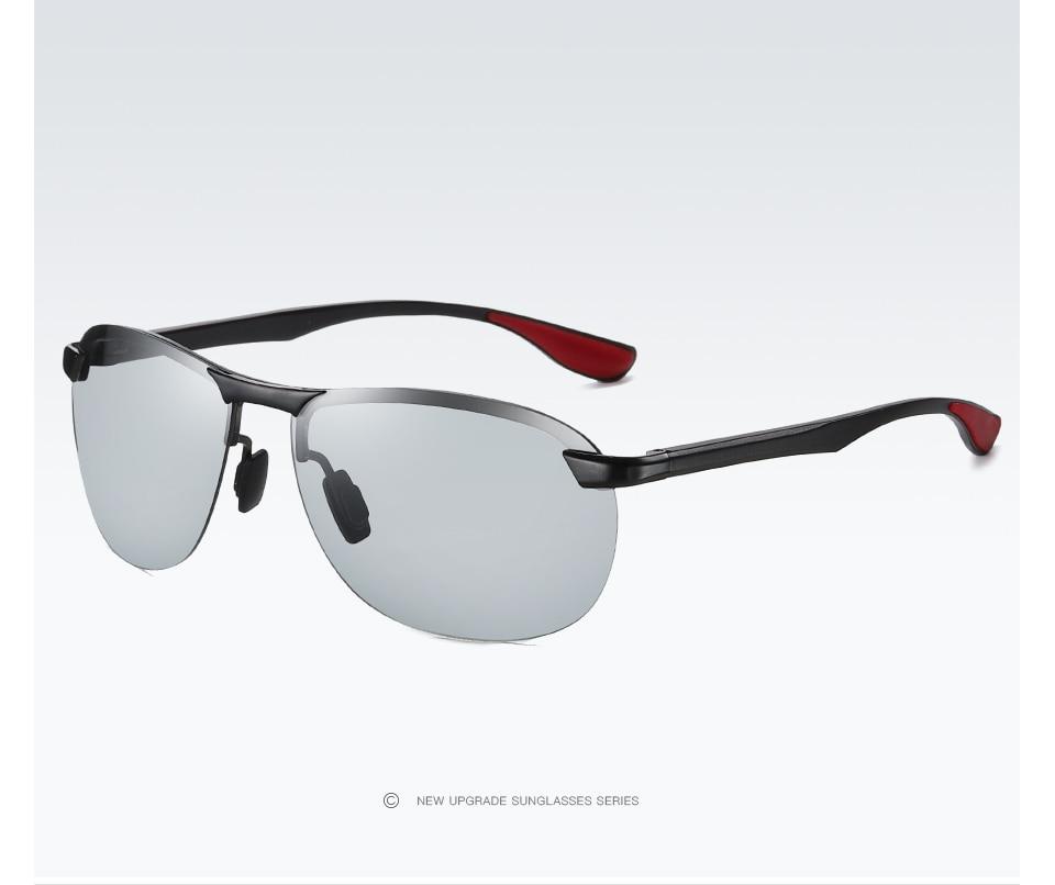 Hba5591dd3f1441e4812f890de0a89c7fJ 2020 Brand Photochromic Men Sunglasses Polarized Glasses Day Night Vision Driving Sun Glasses For Male Oculos De Sol Masculino
