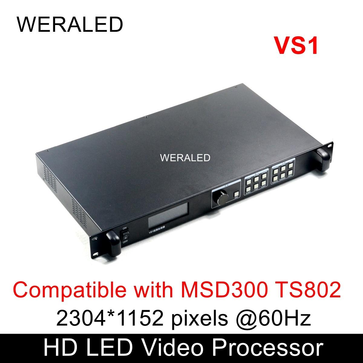 Novastar VS1 doprowadziły ekran HD procesor wideo kompatybilny z MSD300 TS802 karta wysyłająca
