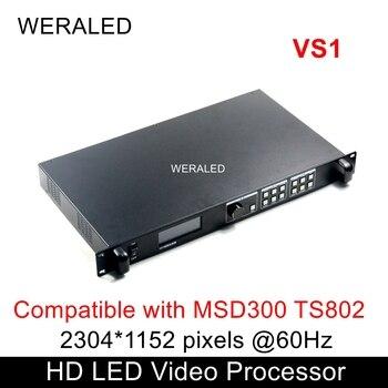 Novastar VS1 LED pantalla HD procesador de vídeo Compatible con MSD300 TS802 Tarjeta de envío