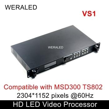 Novastar VS1 pantalla LED procesador de vídeo HD Compatible con tarjeta de envío MSD300 TS802