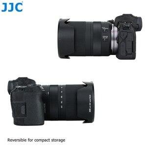 Image 4 - JJC caméra pare soleil réversible pour Canon RF 24 240mm f/4 6.3 est objectif USM sur Canon EOS R EOS RP EOS Ra remplace CANON EW 78F