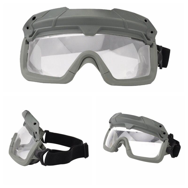 Ветрозащитные тактические очки для страйкбола, охотничьи очки, очки для стрельбы, мотоциклетные очки Wargame, очки для верховой езды, очки для пейнтбола, защита глаз - Цвет: 4