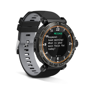 Image 3 - BlitzWolf BW AT1 שעון חכם מסך מגע מלא UI דינמי צג חמצן לחץ דם קצב לב דופק מזג אוויר גשש כושר צמיד גשש כושר Smartwatch שחור גברים נשים