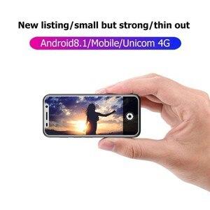 Image 4 - סופר מיני מלרוז 2019 4G Lte הקטן Smartphone 3.4 MTK6739 Quad Core אנדרואיד 8.1 טביעות אצבע נייד