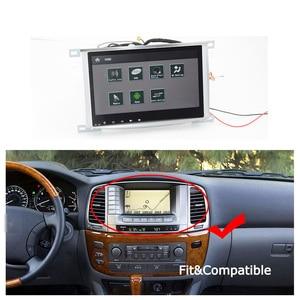 Image 3 - רכב אנדרואיד מולטימדיה נגן עבור טויוטה לנד קרוזר 100 2002 ~ 2007 רדיו אודיו ניווט BT HD מסך Carplay GPS מפות מערכת