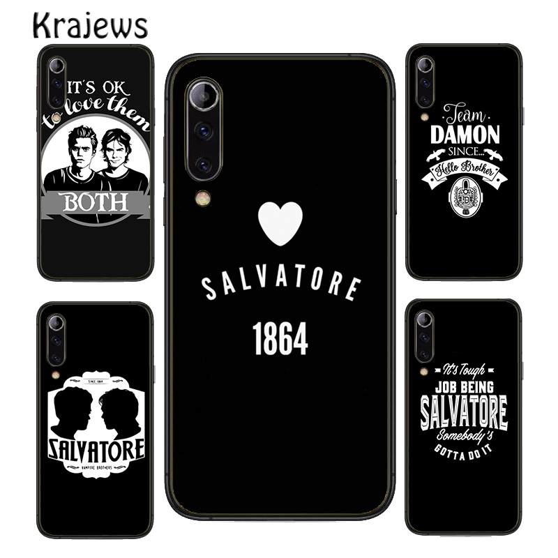 Надпись краудеи «Дневники вампира» Сальваторе 1864, чехол для телефона Huawei P10 P20 P30 P40 Mate 10 20 30 40 Pro Lite P Smart 2019 2020 Z