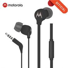 Motorola EarBuds-3 Trasduttore Auricolare Metallico Super Comfort Auricolare 3.5mm jack Bass Telefoni Auricolari con Microfono Auricolari 3 in ear headse