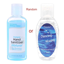 60ml Travel Portable Mini Hand Sanitizer Anti-Bacteria Moisturizing Fruit-Scented Disposable No Clean Waterless Clear Fluid
