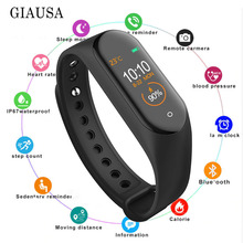 M4 Smart Bracelet Message Remind/Blood Pressure/Heart Rate Monitor/Pedometer Sport Band For XiaoMi iPhone Smart Phone pk GT101