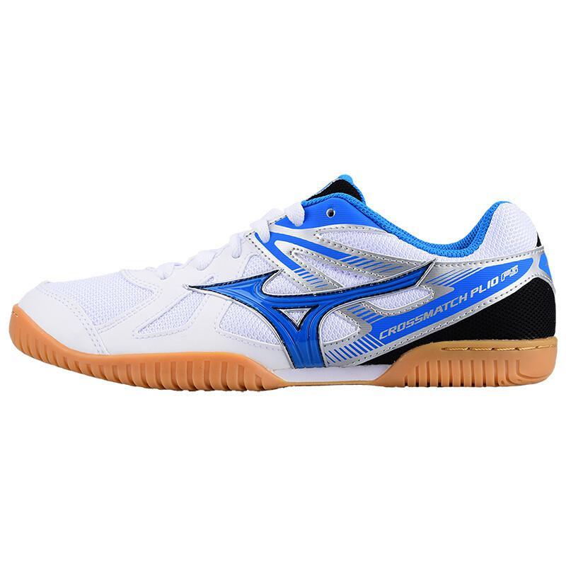 Оригинальная обувь Mizuno Cross Match Plio Cn для настольного тенниса для мужчин и женщин; обувь для тренировок в помещении; амортизирующая национальная команда; кроссовки - Цвет: 81GA183227