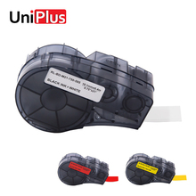 UniPlus Black on White Red Yellow M21-750-595 Label Tapes Makers for Brady Compatible BMP21-Plus Labpal Idpal Printer