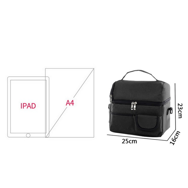 Lunch Bag For Women Kids Men Multifunction Food Picnic Cooler case Insulated Tote Bags Storage Container 6