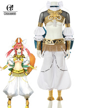ROLECO Game Fate/EXTRA CCC Cosplay Costume Tamamo no Mae Mythological Dress Sexy for Women