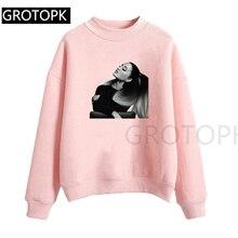2019 New Hooded Women Ariana Grande Vogue Print Sweatershirt