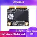 KingSpec ssd msata halbe größe ssd msata 512gb 256gb discos rígidos internos hdd interno für Asus S46C Asus UX52VS Asus s400ca