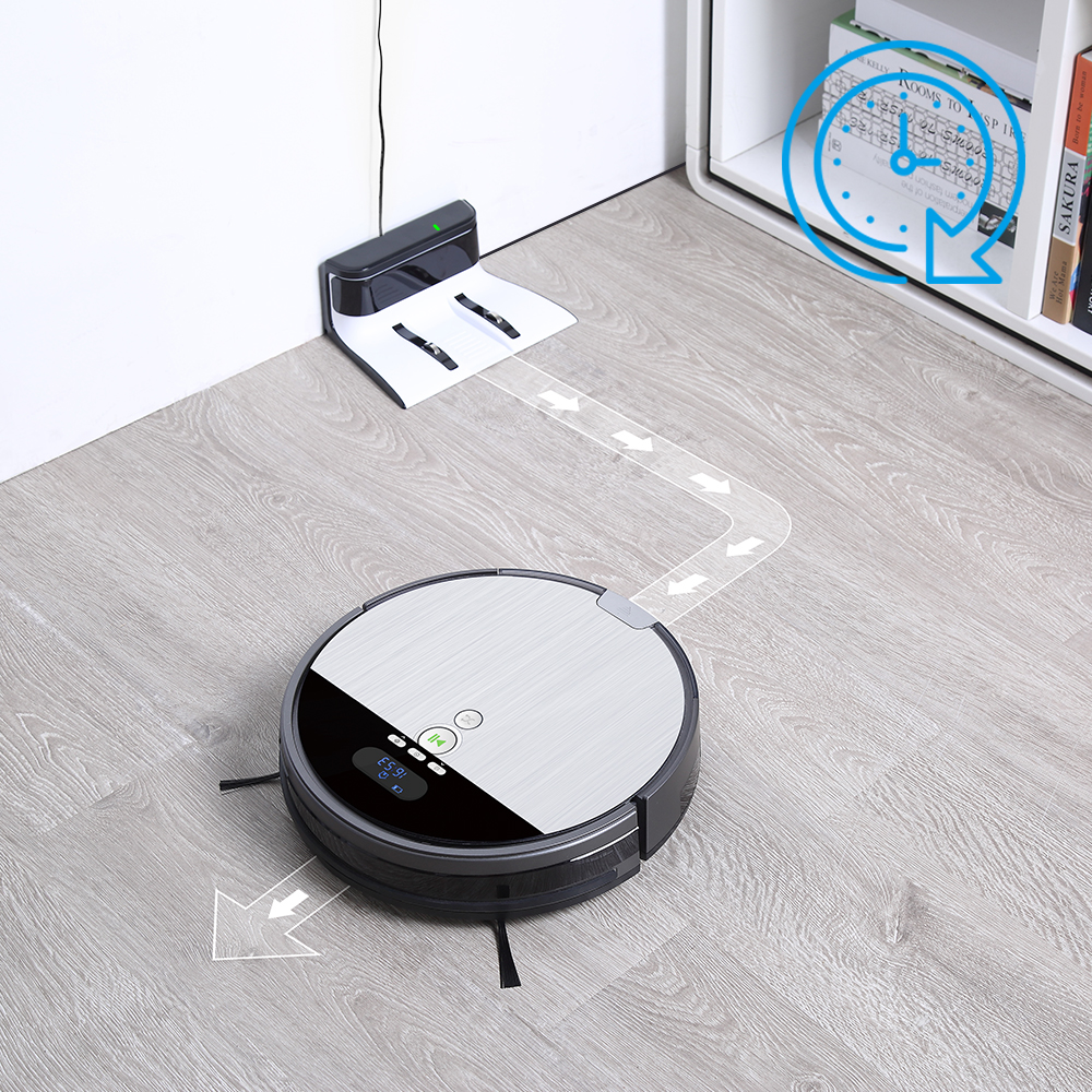 ILIFE V8s Robot Vacuum Cleaner Sweep Wet Mop Navigation Planned Cleaning large Dustbin large Water Tank ILIFE V8s Robot Vacuum Cleaner Sweep&Wet Mop Navigation Planned Cleaning large Dustbin large Water Tank Schedule disinfection