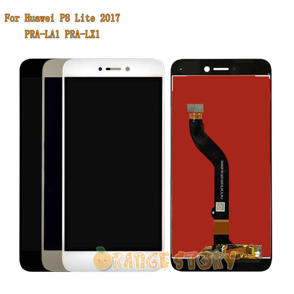 Pièce de réparation Complet D'écran Tactile D'affichage à CRISTAUX LIQUIDES Pour Huawei P8 Lite 2017 PRA-LA1 PRA-LX1 PRA-LX3/honour 8 lite WAS-LX1A PRA-LX2 + Outils