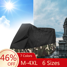 M 4XL 6 Sizes Motorcycle cover universal Outdoor UV Protector Scooter All Season waterproof Bike Rain Dustproof cover 190T