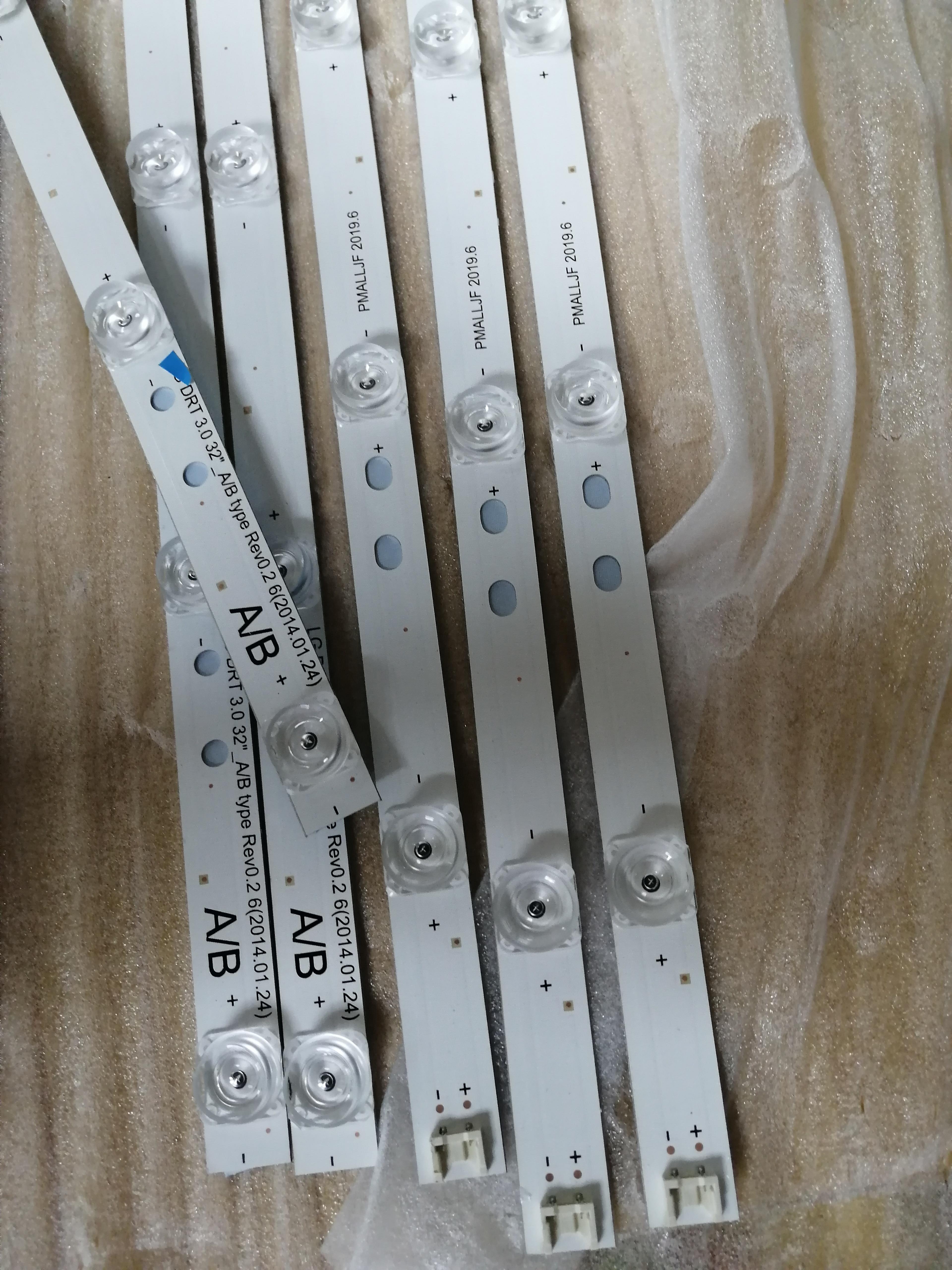 3PCS new 6916L-1974A 6916L-1975A 6LED STRIP DRT 3 0 32-A B  6916L-1703A 6916L-1704A 6916L-2223A 6916L-2224 FOR 32LB5610-CD   GLB