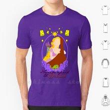N'ayez jamais Peur De Rêve T-shirt Coton Hommes Femmes BRICOLAGE Imprimé Raiponce Princesse Perdu Princesse Princesse Tangled Caméléon Animal