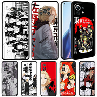 Funda de silicona para teléfono móvil Xiaomi Mi Poco X3, carcasa suave de color negro, NFC, 10T Pro, M3, 11, Note 10 Lite, 9, 9T, F3, A2, F1, Anime