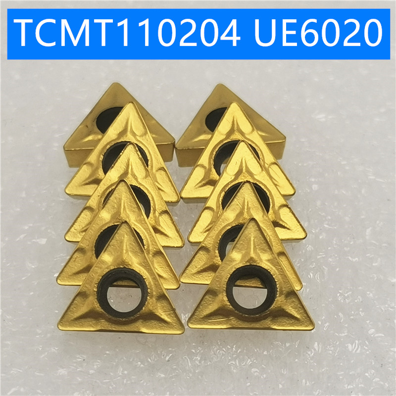 20PCS TCMT110204 UE6020 Carbide Inserts Internal Turning Tools Cutting Tool CNC tools Lathe cutter <font><b>TCMT</b></font> <font><b>110204</b></font> image