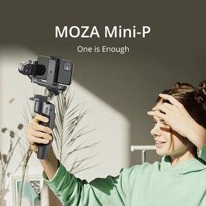 Image 1 - MOZA MINI S P 3 Assi Pieghevole Tascabile Handheld Gimbal Stabilizzatore MINI P per iPhone X 11 Smartphone GoPro MINI MI VIMBLE