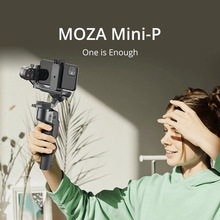 MOZA MINI S P 3 Axis Foldable Pocket Sized Handheld Gimbal Stabilizer MINI P for iPhone X 11 Smartphone GoPro MINI MI VIMBLE
