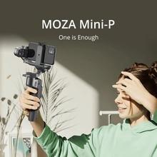 MOZA MINI S P 3 osi składany kieszonkowy ręczny stabilizator Gimbal MINI P dla iPhone X 11 Smartphone GoPro MINI MI VIMBLE