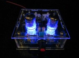Image 2 - Audiophile 6J1 צינור מגבר אוזניות כוח מגבר pre amp אוזניות Amp 6J1 שסתום Preamp חיץ מרה Amplifie DiY קיט